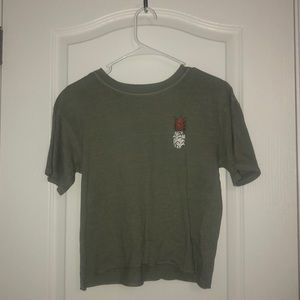 Navy green o'neill tee shirt